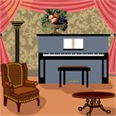 Needlepoint: Armchair and Piano