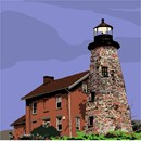 Needlepoint: Charlotte Lighthouse