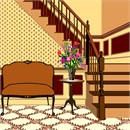 Needlepoint: Couch Staircase