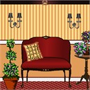 Needlepoint: Couch Topiary