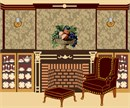 Needlepoint: Fireplace