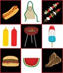 Needlepoint: Grill Sampler