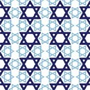 Needlepoint: Jewish Star Quilt