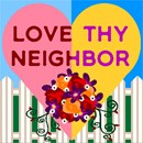 Needlepoint: Love Thy Neighbor