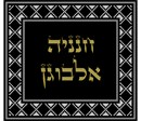 Needlepoint: Tallit Silver Black