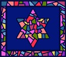 Needlepoint: Tallit Stained Glass