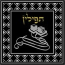 Needlepoint: Tefillin Silver Black