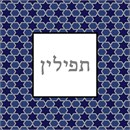Needlepoint: Tefillin Six Point Star