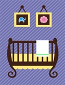 Needlepoint: Uni Baby Crib