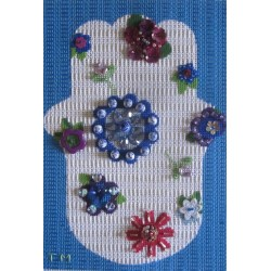 hamsa amulet needlepoint kit