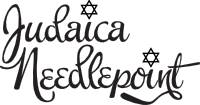 judaica needlepoint shipping